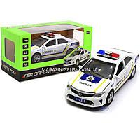 Машинка игровая автопром «Полицейский автомобиль» (свет, звук) 7844