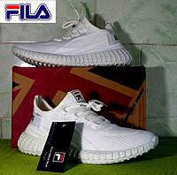 Летние кроссовки Fila & Adidas Yeezy Boost. Унисекс.