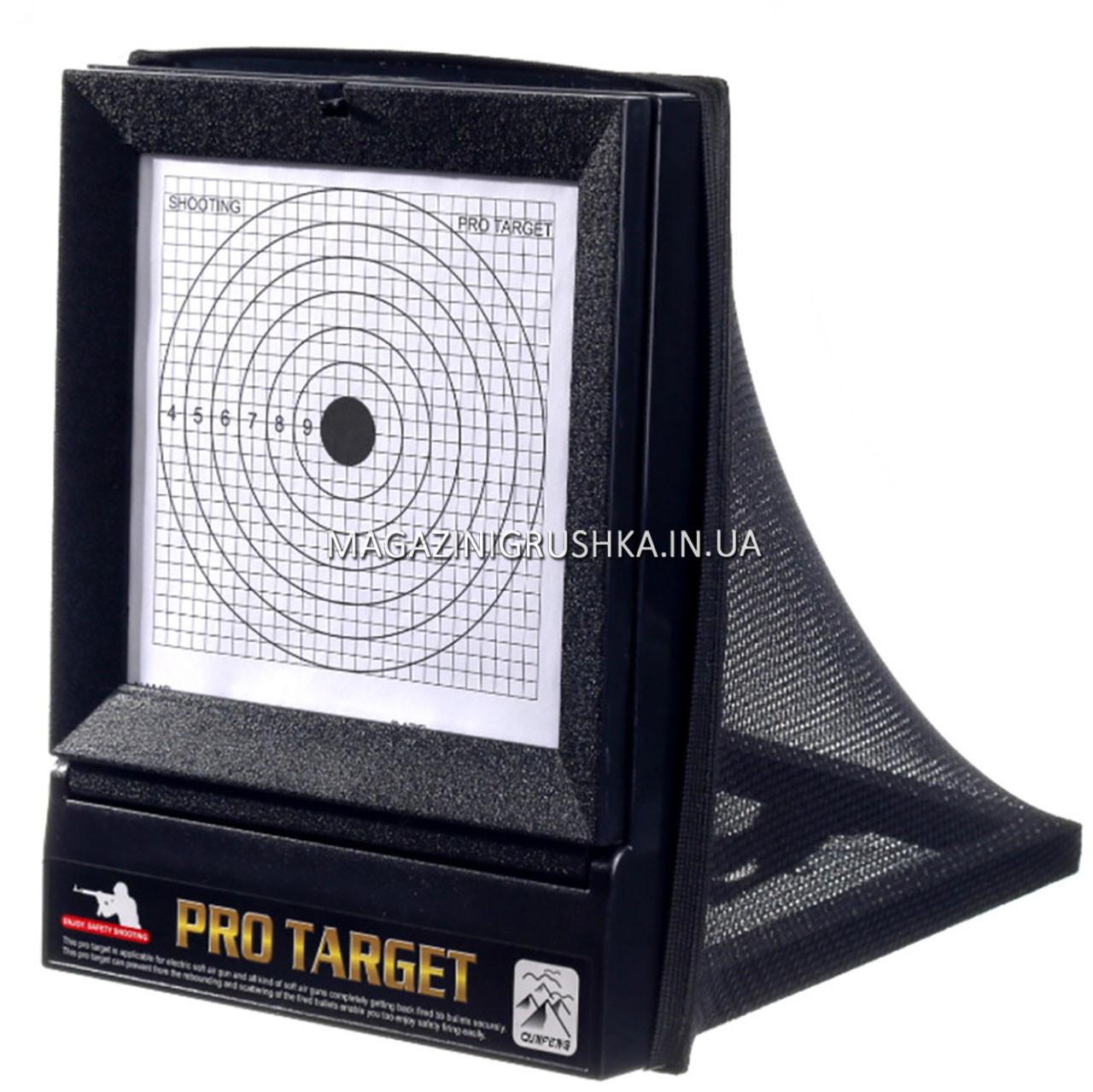 Набір мішеней для стрільби зі зброї, розмір 26х20, 21 шт. (М1) з системою уловлювання куль
