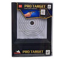 Набір мішеней для стрільби зі зброї, розмір 26х20, 21 шт. (М1) з системою уловлювання куль, фото 2