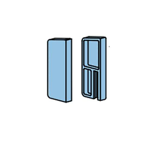Заглушка металева для системи Diva (для т1490), права