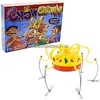 Настольная игра сумасшедшая корона с едой 1111-91