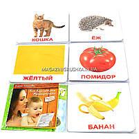 Развивающая игра Карточки Домана Мой первый чемодан «Вундеркинд с пеленок» (ламинация) - 5 наборов арт. 135315, фото 3