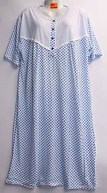 Платье халат хлопковое батал 5XL-7XL Хлопок (от 5 шт)