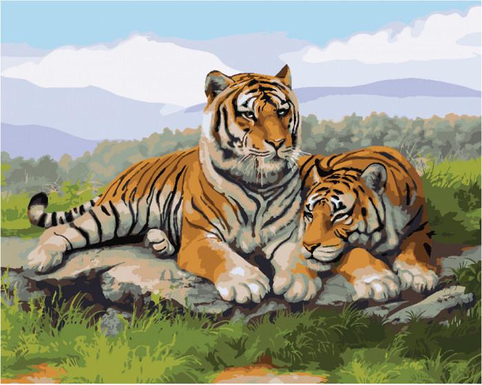 Картина по номерам  После охоты ТМ Идейка 40 х 50 см КНО2484