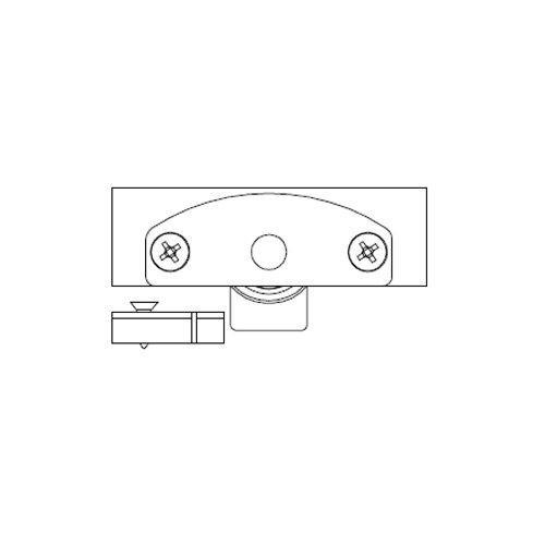 Механізм нижній Scorribase Mini для квадр. профілю (пластик)