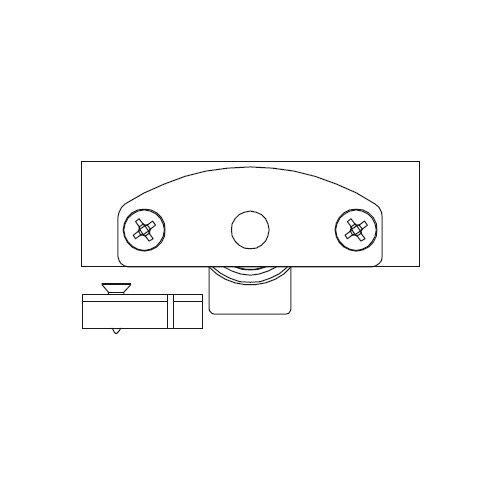 Механізм нижній Scorribase Mini для квадр. профілю (сталь)