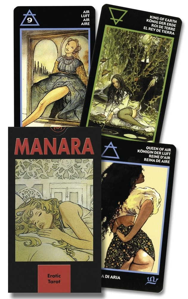 Manara The Erotic Tarot/ Эротическое Таро Манара