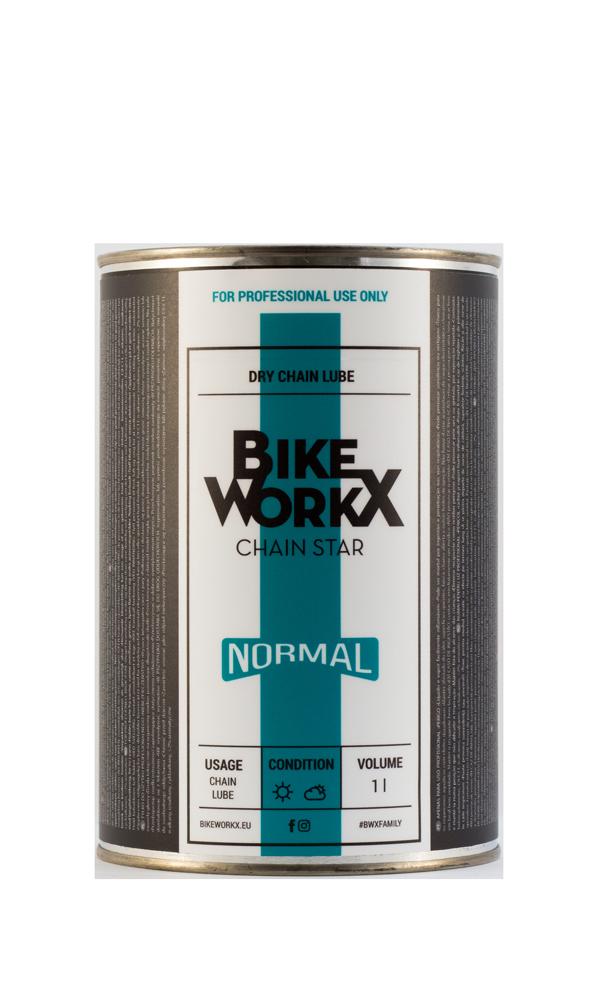 """Смазка для цепи BikeWorkX Chain Star """"normal"""" банка 1L."""