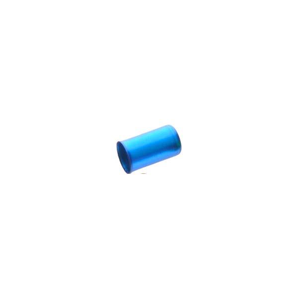 Наконечник на рубашку тормозного тросика A2 Sheng-An, синий, 250шт/банка