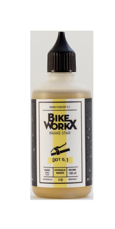 Тормозная жидкость BikeWorkX Brake Star DOT 5.1 100 мл.