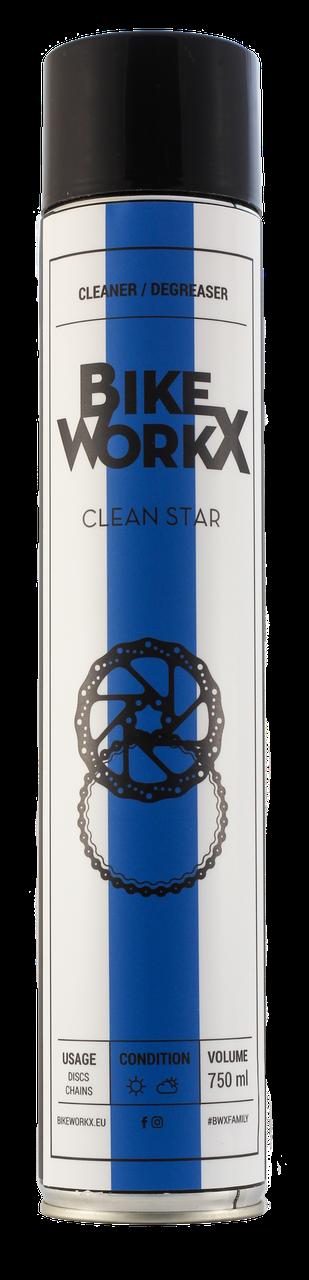 Очиститель BikeWorkX Clean Star спрей 750 мл.