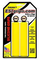 Грипсы ESI Chunky Yellow (желтые)
