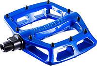 Педали DMR V8 V2 ED Blue (синий металлик), фото 1