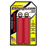Грипсы ESI Extra Chunky Red (красные)