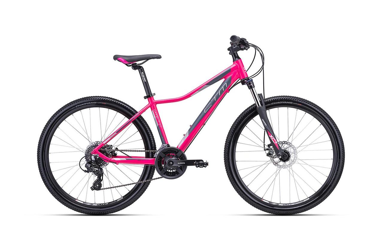 Велосипед CTM Charisma 2.0 (matt pink/grey) 2018 года; 14 ростовка
