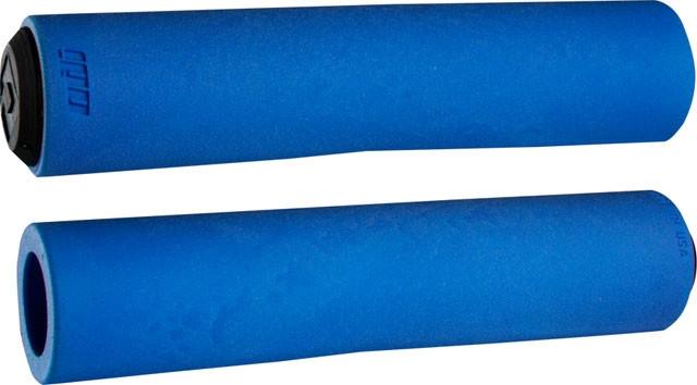 Грипсы ODI F-1 FLOAT Grips, 130mm, Blue (синие)