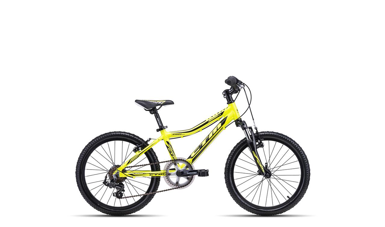 Детский велосипед CTM Jerry 2.0 (reflex yellow/black) 2018 год