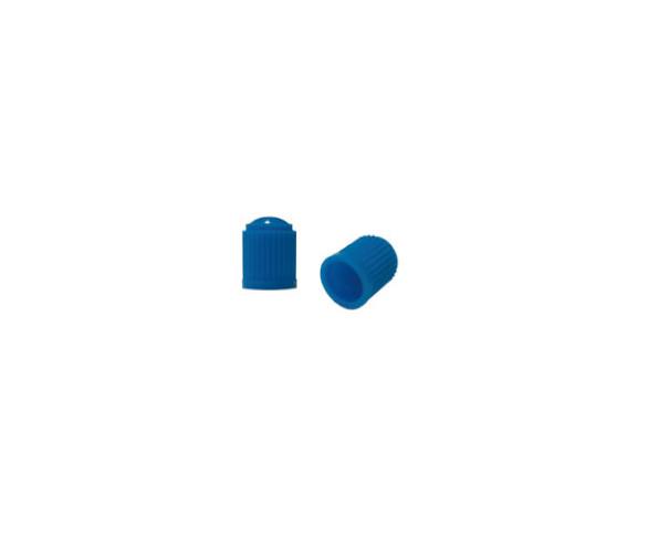 Колпачок на ниппель пластиковий синий Kronyo TBP-34В2 (100 шт.)