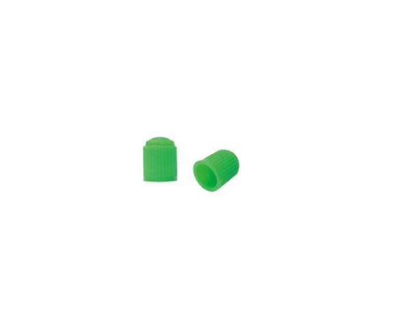 Колпачок на ниппель пластиковий зеленый Kronyo TBP-34Е (100 шт.)