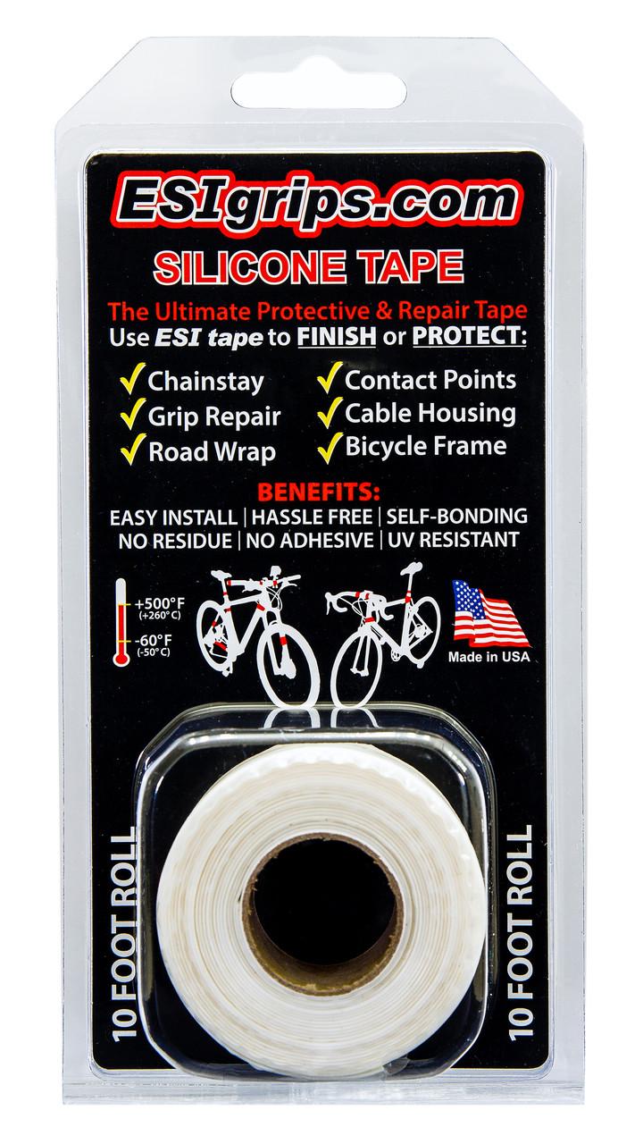 Силиконовая лента ESI Silicon Tape 10' (3,05м) Roll White, белая