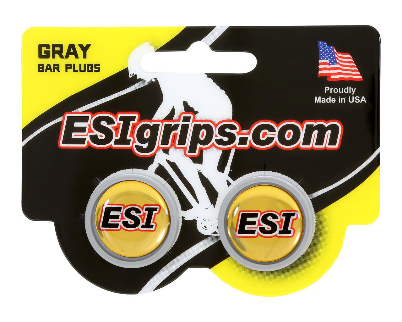 Заглушки руля ESI Bar Plug Grey, серый
