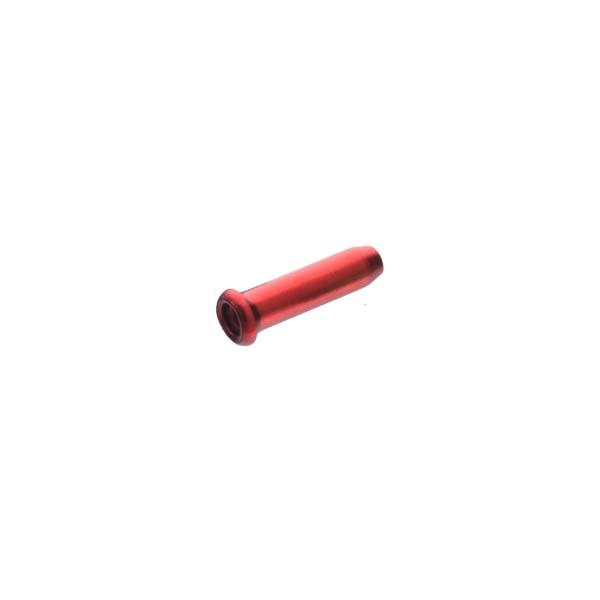 Оконцовка Sheng-An A1 для тормозного троса и переключения, красный, 500шт/банка