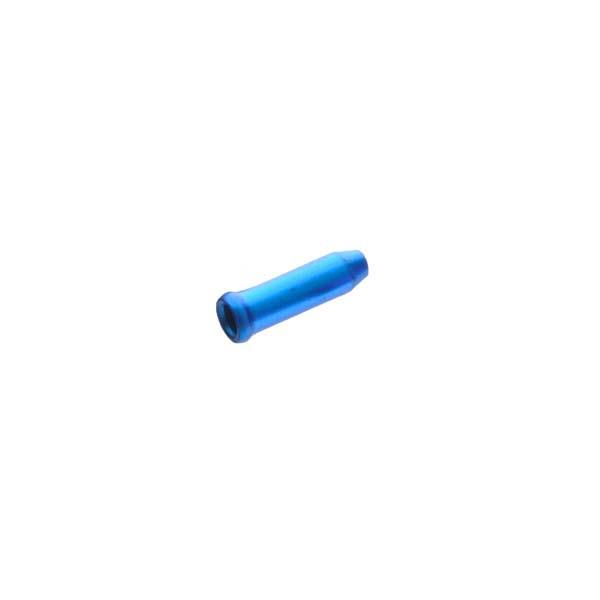 Оконцовка Sheng-An A1 для тормозного троса и переключения, синий, 500шт/банка