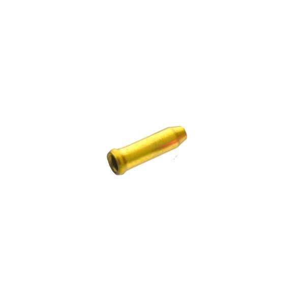 Оконцовка Sheng-An A1 для тормозного троса и переключения, золотой, 500шт/банка
