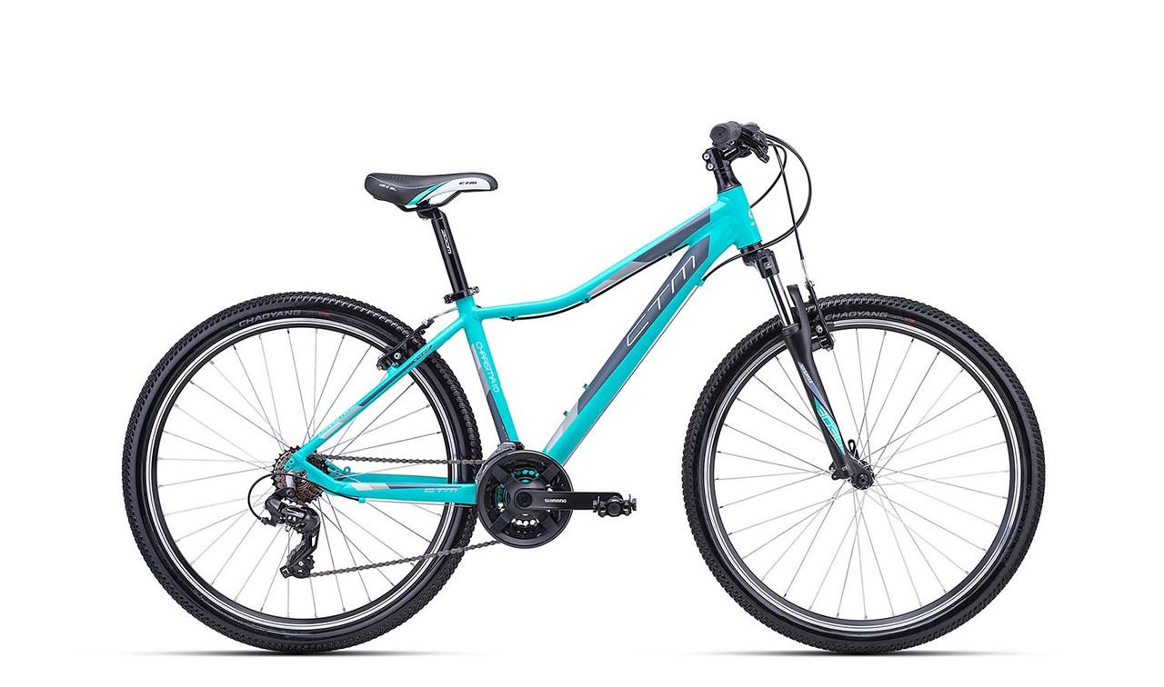 Велосипед CTM Charisma 1.0 (matt mint/grey)  2018 года; 16 ростовка