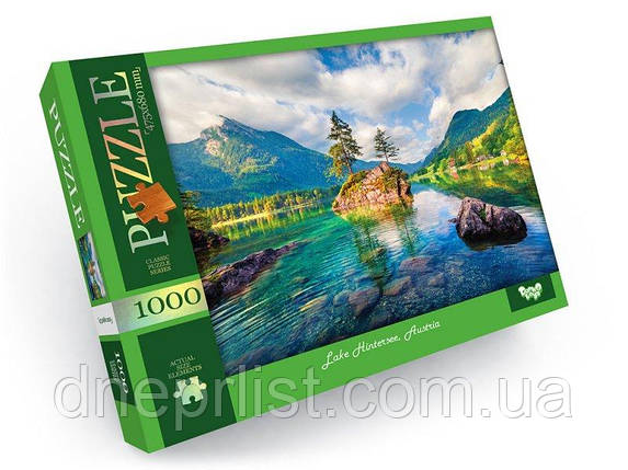 "Пазл 1000 елементів ""Австрія, озеро Хинтерзее"", фото 2"