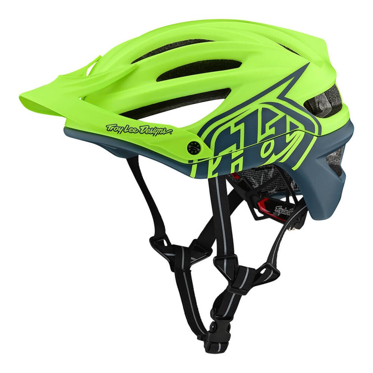 Вело шлем TLD A2 Mips Decoy [Flo Yellow / AIR Force Blue] размер M/L