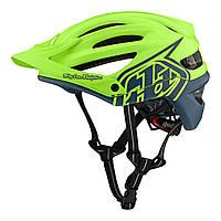Вело шлем TLD A2 Mips Decoy [Flo Yellow / AIR Force Blue] размер M/L, фото 1