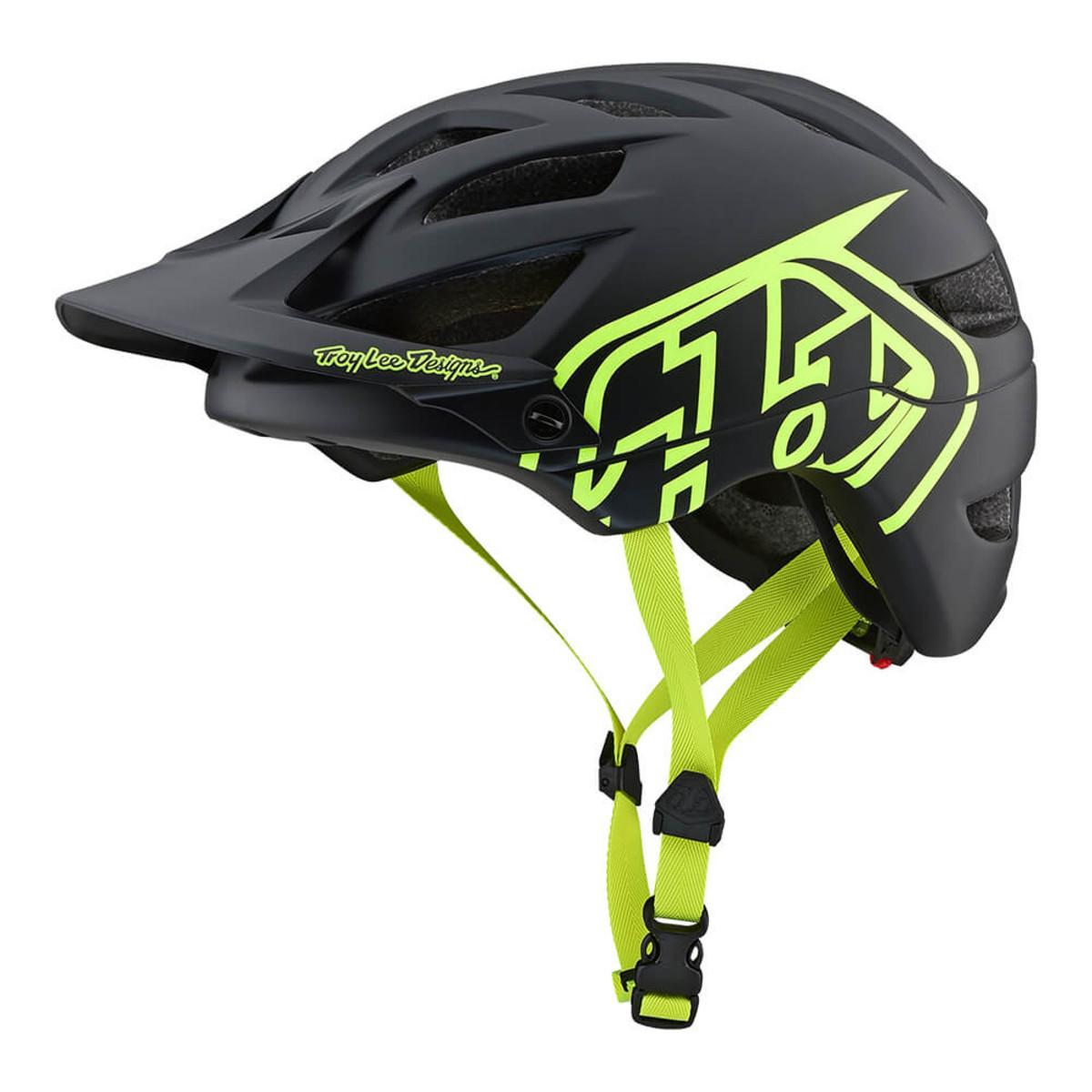 Вело шлем TLD A1 Classic Drone [Black / Flo Yellow] размер S