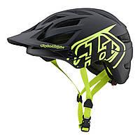 Вело шлем TLD A1 Classic Drone [Black / Flo Yellow] размер S, фото 1