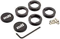 Замки для грипс ODI Set Lock Jaw Clamps w/Snap Caps - Black (черные)