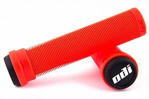 Грипсы ODI Soft Longneck BMX 135 mm Single Ply Fire Red (огненно красные)