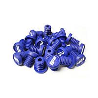 Баренды BMX 2-Color Push in Plugs Refill pack Blue w/ White (сине белые)