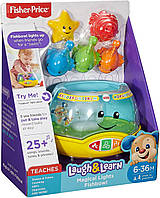 Веселый аквариум Волшебные Огни. Fisher-Price Laugh & Learn Magical Lights Fishbowl, Оригинал из США, фото 1
