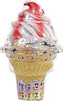 Мягкая игрушка котик в мороженом с ароматом ванили. Sunny Days Entertainment Cool Cats Collectible Plush Trans, фото 1