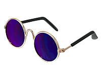 Очки для кошки или собаки Hoomall солнцезащитные  Фиолетовый