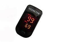 Пульсоксиметр: монитор кислорода в крови и пульса  Чёрный