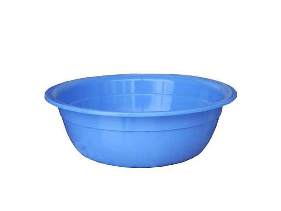 Миска пл. 2,5л блакитн ТММЕД, фото 2