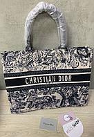 Сумка Christian Dior Люкс Тканевая Кристиан Диор