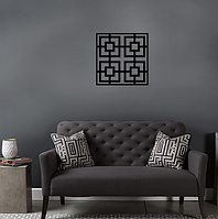 "Декор для стен. Панно из металла ""Лабиринт"""