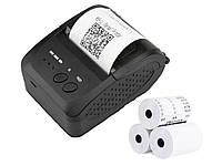 Мобильный принтер чеков Pos Bluetooth