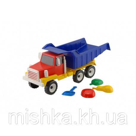 """Машинка """"Урал"""" люкс: машинка, лопатка (Л2),  три пасочки (П2)"""