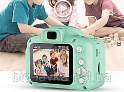 Дитяча Цифрова Фотокамера UrbanKids з 2 дисплеєм для фото Зелений