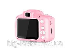 Дитяча Цифрова Фотокамера UrbanKids з 2 дисплеєм для фото Рожевий