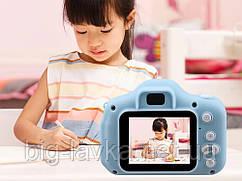Дитяча Цифрова Фотокамера UrbanKids з 2 дисплеєм для фото Синій